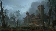 ArtStation - Swamp tribe, lok du