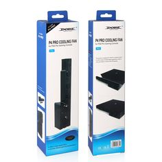 Cooling Fan Cooler for PS4 Perfectmall Super Turbo Temperature Cooling Fan with USB Charging Cable Black for Sony Playstation 4 Gaming Console Host