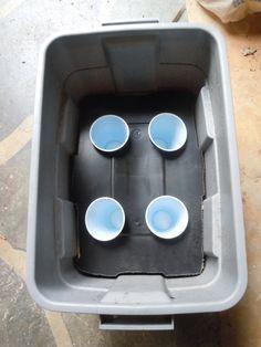 self watering tub DIY