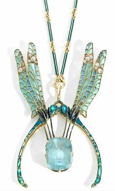 Rene Lalique Art Nouveau | Rene Lalique Pendants: RLalique.