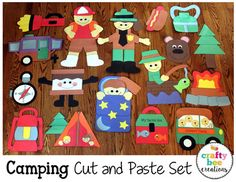 Summer is the most popular camping season, mainly because the next thunderstorm is good and warm. Camping in 40 degree weather is Camping Crafts For Kids, Camping Activities, Camping With Kids, Summer Activities, Summer Camping Outfits, Insect Crafts, Indoor Camping, Camping Theme, Camping Gear