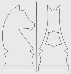 The Carmichael Workshop: Making Wooden Knight Chess Pieces