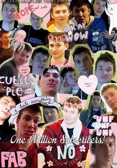 BajanCanadian, why do I luv u so much? Why I Love Him, My Love, Nick Laws, All Things Cute, Nerdy Things, Disney Minecraft, Matthew Lush, The Janoskians, Joey Graceffa