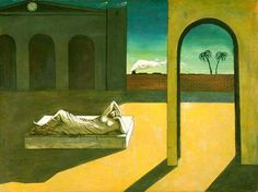 Fan account of Giorgio de Chirico, an Italian Surrealist Painter who founded the Scuola Metafisica art movement. Italian Painters, Italian Artist, Statues, Modern Art, Contemporary Art, Art Ancien, Francisco Goya, Max Ernst, Philadelphia Museum Of Art