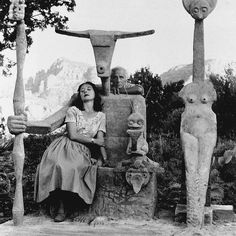 We call this #dadatime. (Max Ernst and Dorothea Tanning, Sedona, 1948)