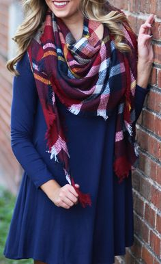 FREE Blanket Scarf w/ $75 purchase at Marleylilly! Ends 9/21.
