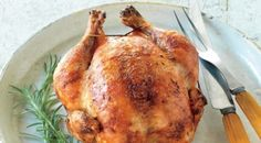 Check out this delicious recipe for Rosemary-Brined Rotisserie Chicken  from Weber—the world's number one authority in grilling.