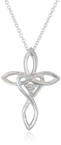 Women's Sterling Silver Diamond Cross Pendant Necklace with Heart (0.03 cttw, I-J Color, I2 Clarity) Amazon Curated Collection,http://www.amazon.com/dp/B007R21OYU/ref=cm_sw_r_pi_dp_lLrCsb102K7ARM7M