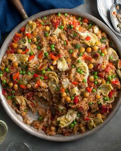 Recipe: Vegetable Paella from Vegan Without Borders by Robin Robertson