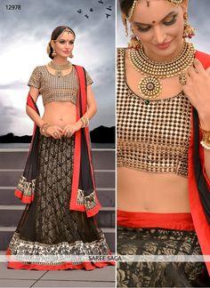 http://www.sareesaga.in/designer-lehenga-choli/charming-black-net-designer-lehenga-choli-12978