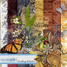 Art Journaling :: Kits :: Touching Artistic