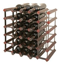 Final Touch 30 Bottle Wine Rack, Cherry Finish by Final Touch. $66.51. Neck label protectors included. Steel frame locks into wood. Final Touch wine racks are very sturdy, they keep their shape and do not wobble. Vertically and horizontally expandable using optional rack connectors. Holds 30 bottles, and comes in a beautiful Cherry finish. Final Touch wine racks are very sturdy - they keep their shape and do not wobble. They are commercial grade, though perfect for home...