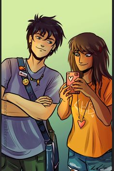 Piper and Percy bff's