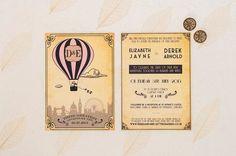 Greatest Adventure Yet wedding invitations