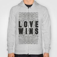 Hoody featuring Love Wins by Megan Hillier