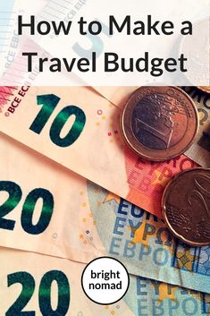 How to Make a Travel Budget Plan - Making a plan for your expenses on your trip is easy and will save you time and stress when you travel. Here is a step by step guide to creating you travel budget. #travel #traveltips #travelblog #travelblogger #travelling #travelbudget #budget #planning #tips