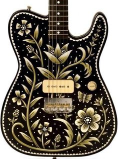 Gorgeous inlay on a Telephone style body