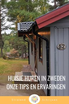 Rent a house in Sweden - Do you want to rent a house in Sweden? Be sure to read our experiences with renting a ca - Sweden House, Shed Plans, Travel Abroad, Renting A House, Denmark, Places To Visit, Hiking, Camping, Outdoor Structures