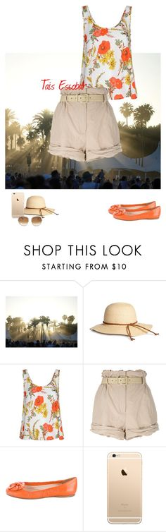 """""""Sunny Sunday day, let's walk ;)"""" by tais-escobar ❤ liked on Polyvore featuring Glamorous, Moschino, Prada and Chloé"""