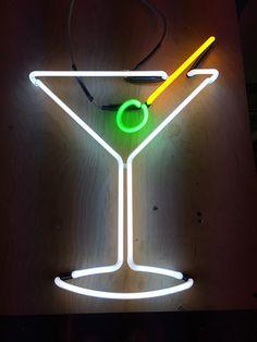 Martini Glass | by Lite Brite Neon
