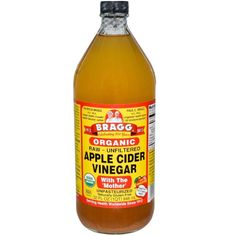 """""""Dampen your hair before you shower and then brush apple cider vinegar into it. Wait about 15 minutes, then wash and rinse it out in the shower. Your hair will be super soft and fluffy."""" —melissab0017 PS: The raw, unfiltered kind is best for beauty stuff. Get a 32-ounce bottle from Amazon for $12.34"""