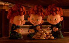 me enamore de ellos. #Brave #triplets