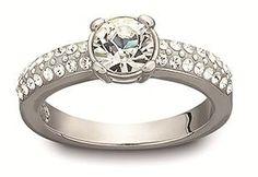 "Wedding Ring ""Dazzle"" Swarovski"
