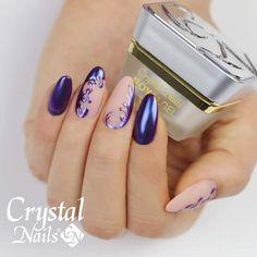 #crystalnails #crystalnailshungary #kesztyusdora #chromirror #chromenails #autumnnails #royalnails #nailart #naildesign #nailstagram #nails