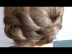 Second part of milkmaid hairstyle video.