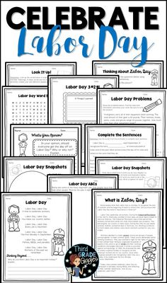 This no-prep Labor Day pack is perfect to teach your students all about this September holiday! All activities are engaging and give students an opportunity to be creative and reflect on this holiday. Short on time to teach this holiday? Complete activities in group settings and encourage meaningful discourse in a short amount of time!