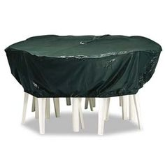ROUND OUTDOOR TABLE & CHAIR COVER