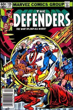 Defenders # 106 by Al Milgrom