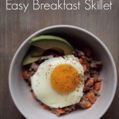 Skincare Saturday: Quick & Easy Breakfast Skillet!