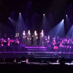 The beautiful pics keep coming from Porto Alegre! Repost using @ZohoSocial - : @elianepayret Il Divo!  #IlDivo #IlDivoInPOA