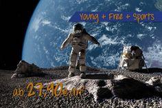 Astronauten auf Mond