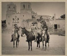 Colonel Theodore Roosevelt in Texas, 1898 San Antonio Mission