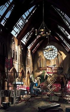 Lori Nix's Stunning, Tiny Dioramas Depict an Abandoned World [Slideshow]   Co.Design   business + design