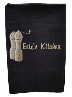 Waffleweave Kitchen and BBQ Towel with by InitialImpressions, $21.00