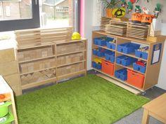 At the Beach - Stimulating Learning Preschool Block Area, Preschool Layout, Block Center, Montessori Activities, Classroom Design, Beginning Of School, Reggio, Kids Room, Environment