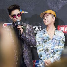 GD and TOP | MAMA 2015 (151202)