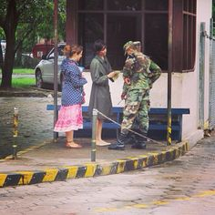 Bolivia - Sharing The Bible with Soldiers JW.Org  ~Photo shared by @Joanna Terrazas