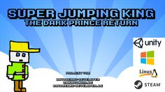 Super Jumping King is a 2D Jump&Run Game with a nice story line very hard Levels and Boss Fights for PC / Mobile
