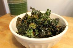 Butter & brown sugar kale chips