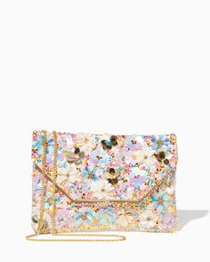 charming charlie   Lala Floral Sequin CrossbodyLala Floral Sequin Crossbody    UPC  400000562674400000562674  charmingcharlie 51d832049a