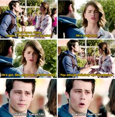 Malia is amazing 😂❤️#teenwolf #malia #stilesstilinski#stalia