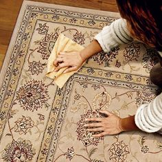 How to Remove Every Type of Carpet Stain - via This Old House