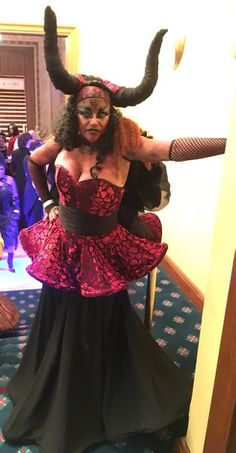 My mom's LOJ Ball costume in action! Self drafted skirt. Simplicity 5060 corset #sewing #crafts #handmade #quilting #fabric #vintage #DIY #craft #knitting