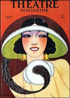 Theatre magazine, january 1924.