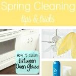Spring Cleaning Tips and Tricks #SpringDream. My favorite cleaning tip is using a pillow case to clean the blades on ceiling fans!