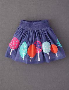 Appliqué Skirt